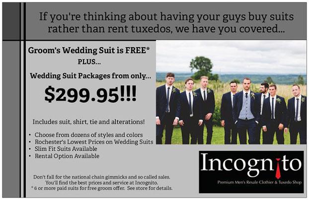 2020 wedding suit sale!