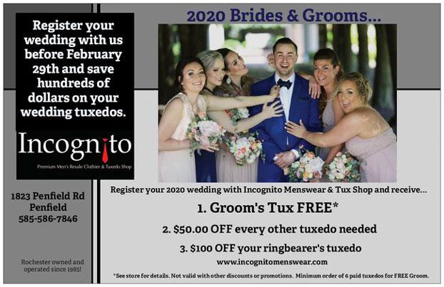 2020 wedding tux special