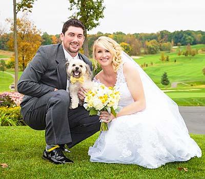 Horowitz wedding couple